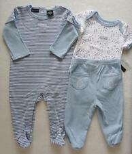 Calvin Klein Baby Boy 3 6 Months Sleeper Bodysuit Outfit Pants Blue NWT