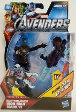 "IRON MAN -REACTRON ARMOR- The Avengers Movie Concept Series 4"" Figure #7 2012"
