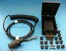 FREE P&P* 7 Pin Suzie Front Cable Assembly & Junction Box Ifor Williams Trailer