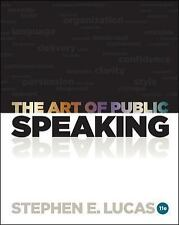 FAST FREE SHIP *** The Art of Public Speaking by Stephen Lucas ● 11th Edition
