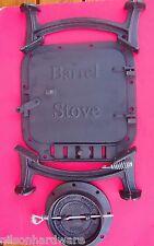 Cast Iron Barrel Stove Kit build your own wood heater Vogelzang BK100E