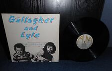 """12"""" LP 33rpm Gallagher & Lyle - Breakaway *Includes Song Sheet*"""