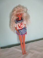 Vintage Hasbro Sindy Doll - Wearing part of the Sindy Funtime Collection Outfit