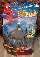 MARVEL SPECTACULAR SPIDER MAN  ANIMATED SERIES   RHINO    MOC