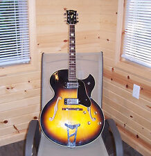 1960's Ventura Electric Guitar F hole  Sunburst Made in Japan 70's  V.G. cond.