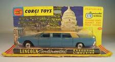 CORGI TOYS 262 Lincoln Continental with Lehmann Peterson Bodywork rares BLU OVP