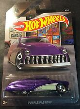 2016 Hot Wheels CUSTOM Garage Purple Passion with Real Riders Walmart Exclusive