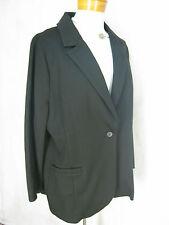 Size 16 Ojay black Viscose blend designer jacket