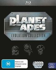 Planet Of The Apes - Evolution Collection (Blu-ray, 2011, 7-Disc Set) NEW