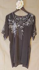 JWC xs xsmall OASIS BLOUSE rustic olive JWLA Johnny Was nwt new collection