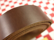 "HORWEEN BROWN CHROMEXCEL LEATHER 10 oz. 17""x20mm FOR BELT & STRAP 1st. QLTY."