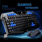 Gaming wireless 2.4G Keyboard +Mouse Set To computer Multimedia Gamer клавиатура