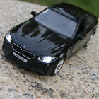 5 Inch BMW M5 Alloy Diecast Model Cars Toy Car Gifts Sound & Light Black Color