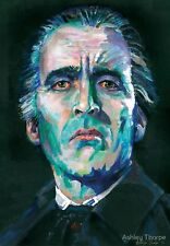 Christopher Lee | DRACULA - LTD Edition Signed and numbered prints by FANGORIA
