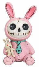 Furry Bones PINK BUN-BUN the Bunny Rabbit Figurine, Skeleton in Costume, NIB