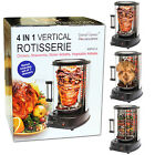 VERTICAL BBQ CHICKEN ROTISERIE GRILL ROASTER MEAT DONER KEBAB SKEWERS VEGETABLES