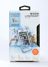 LifeProof nuud Water Dust Snow Proof Hard Shell Case for iPhone 6 Clear/Pink NEW