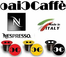 50 NESPRESSO 100% Compatible Coffee Capsules Pods Made in Italy
