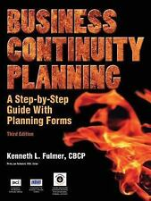 Business Continuity Planning, a Step-By-Step Guide with Planning Forms by...
