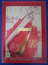 HARPER'S BAZAAR Magazine The Big Red Book 2006 Harpers Bazaar Limited Edition