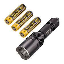 Nitecore TM03 CREE XHP70 LED Flashlight -2800Lm  w/3x IMR18650D Batteries