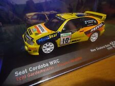 altaya/ixo 1/43   seat  cordoba wrc new zealand rally 1999 # 10
