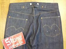 Levis Vintage LVC Raw Rigid 1915 501 Cone Selvedge Button Jeans W34 £225 NEW USA