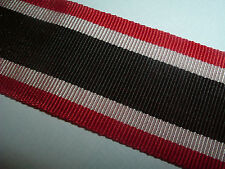 MEDAL RIBBON-GOOD QUALITY GERMAN WW2 WAR MERIT CROSS RIBBON