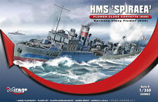 HMS SPIRAEA K-08 WW II ROYAL NAVY CORVETTE ( W/PE PARTS) 1/350 MIRAGE BRAND NEW
