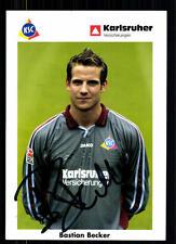 Bastian Becker Karlsruher SC 2002-03 TOP AK + A 71847