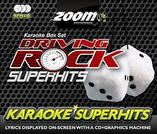 Cdg-Zoom Driving Rock Karaoke Superhits 3 Disc Pack