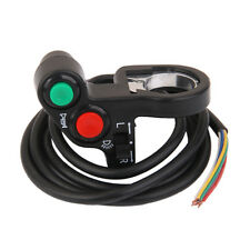 "1 x 12V Horn Light Turn Signals On/Off Switch for 7/8"" Diameter Handlebars"