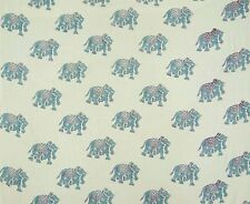 Cotton Voile Fabric Supply Indian Hand Block Print Craft Sewing By The Metre