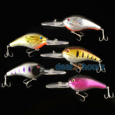 5x9cm 21g Biomimetic Sinking Fishing Bass Lure Crankbait Tackle Hook Crank Bait