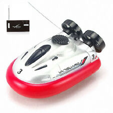 Mini i/r rc commande à distance Sport aéroglisseur hover boat toy red Tide