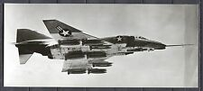 Postcard 1230 - Aircraft/Aviation Real Photo Mc Donell Phantom II Large Card