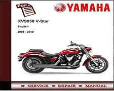 Yamaha XVS950 XVS 950 V-Star 2009 - 2010 Service Repair Workshop Manual