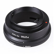 S2 Fotga Adapter Ring fuer Canon FD Objektiv an Sony NEX E NEX-3 NEX-5 NEX-VG10