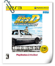 PS3 INITIAL D EXTREME STAGE SONY PlayStation Racing SEGA