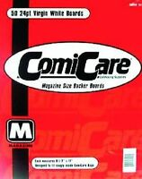 COMICCARE 50 MAGAZINE SIZE COMIC BOOK BOARDS