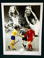Frank Mclintock Signed Arsenal Large Photograph