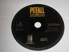 Pitfall 3D Beyond the Jungle (PlayStation 1, 1998) Disc Only