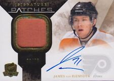 10-11 The Cup SIGNATURE PATCHES xx/75 Made! James Van RIEMSDYK - Flyers