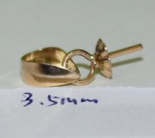 3.5mm cap 18k solid gold bail 02