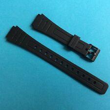 Casio Uhrband schwarz AW-48H