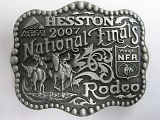 National Finals Rodeo Hesston 2007 Youth (Small) NFR Cowboy Buckle New Wrangler