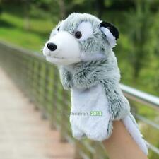 Family Fun Wolf Animal Glove Hand Puppet Doll Kids Plush Toys Story Learning New