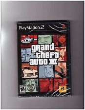 Grand Theft Auto 3: GTA III (Playstation 2 PS2 Shooting Driving Adventure) NEW