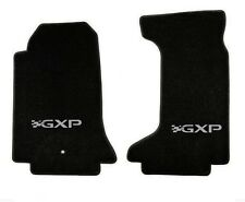 NEW! floor mats 2006-2010 Pontiac Solstice Embroidered GXP Letters Logo Pair