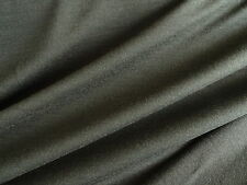 1m Olive 100% NZ Merino Wool Fabric Jersey Knit 180g By metre Baselayer Stretch